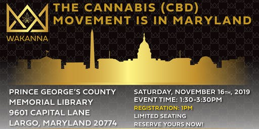 The Cannabis Movement is in Maryland