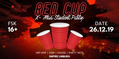 ✘ U18 ✘ RED CUP X-MAS STUDENT PARTY