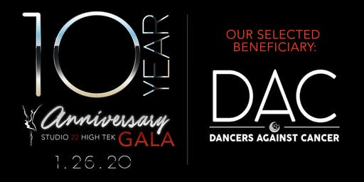 Studio 22 High Tek - 10 year Anniversary Gala