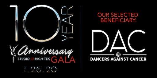 Studio 22 High Tek - 10 year Anniversary Gala