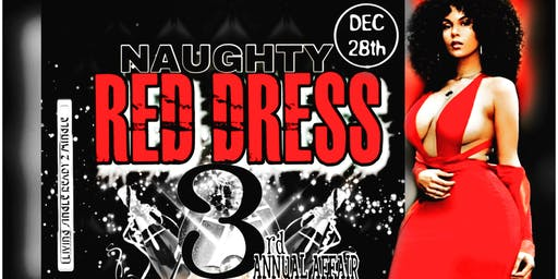 The Naughty Red Dress Evening Affair