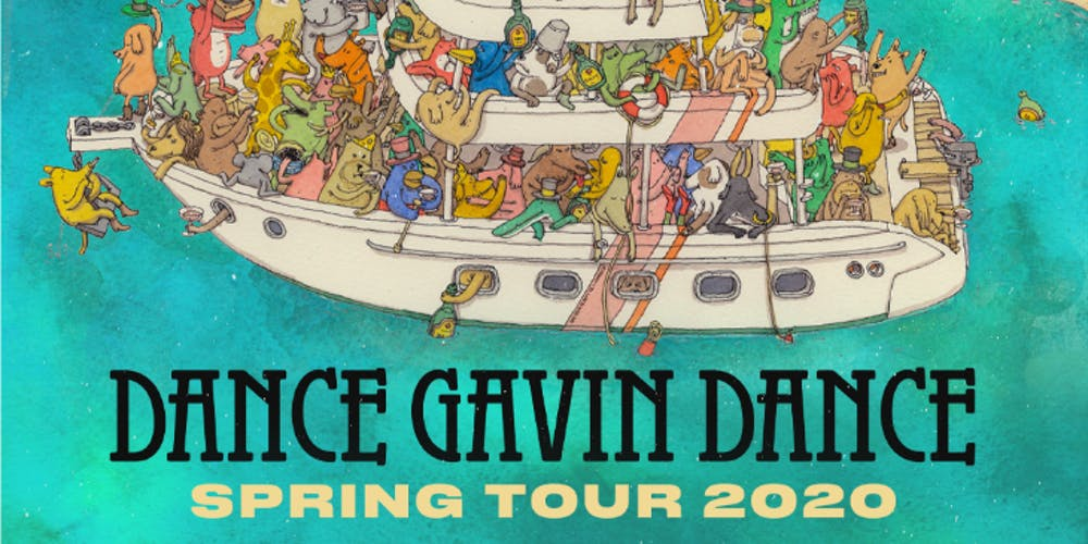 Warped Tour 2020 Bands.Dance Gavin Dance Spring Tour 2020