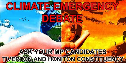 Climate and Biodiversity Election Debate - Tiverton & Honiton Constituency