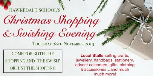 Christmas Shopping & Swishing Evening