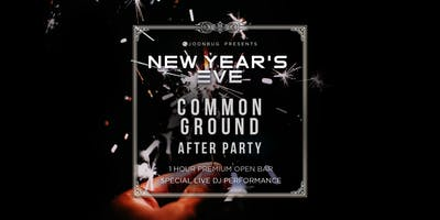 Common Ground New Years Eve 2020 After Party