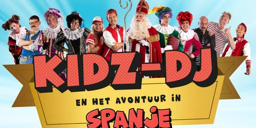 Zo.1 december: De grote Kidz-dj Sinterklaasshow (m.m.v. Bram van der Vlugt)