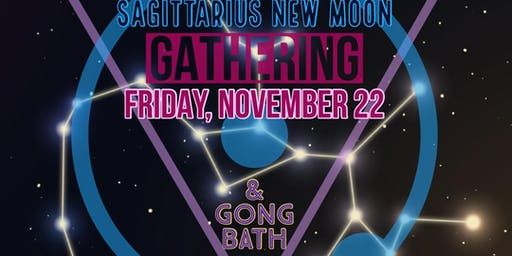 New Moon In Sagittarius Gong Bath