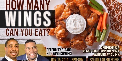 Spinfire 89 Pizza, Wings & Football Hot Wing Contest