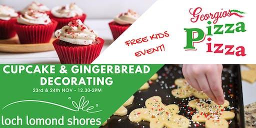 Cupcake & Gingerbread Decorating!