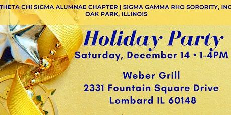 Theta Chi Sigma Holiday Party tickets
