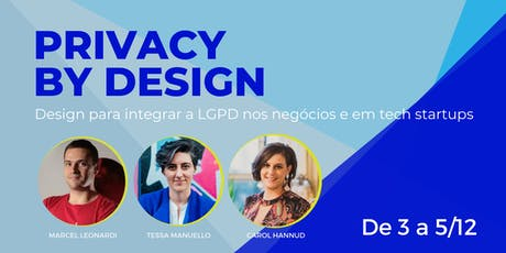 Privacy by design tickets