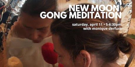 New Moon Gong Meditation tickets