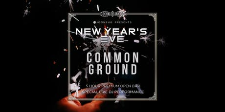 Common Ground New Years Eve 2020 Party tickets