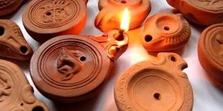 Make a Ceramic Roman oil lamp tickets