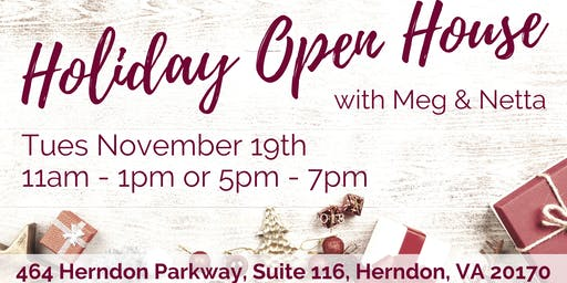 Holiday Open House at Suite 116