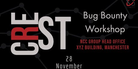 CREST Bug Bounty Workshop tickets