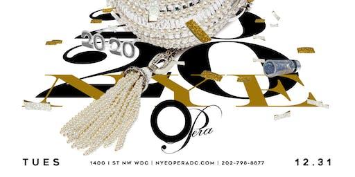 New Years Eve 2020 at Opera Ultra Lounge DC