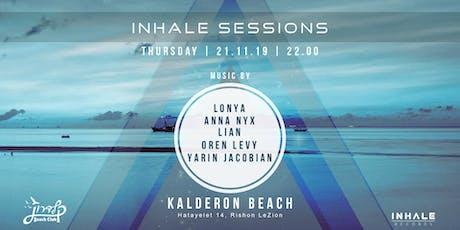Inhale Sessions at Kalderon Beach tickets