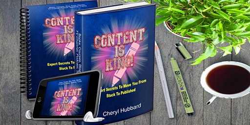 CONTENT is King!  Let's Spread Your Message
