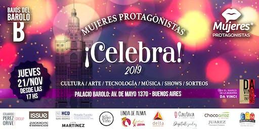 "MUJERES PROTAGONISTAS ""CELEBRA 2019"""