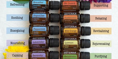 Natural Solutions for Winter Wellness with doTERRA Essential Oils tickets