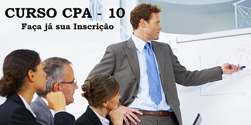 Curso Preparatório - CPA-10 - Aulas aos Sábados - Intensivo dezembro - 14/12 a 21/12