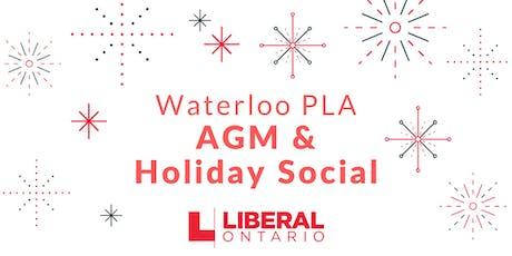 Waterloo PLA AGM & Holiday Social tickets