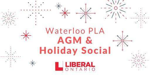 Waterloo PLA AGM & Holiday Social