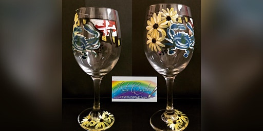 $15 MD Glass: Glen Burnie,  Sidelines with Artist Katie Detrich!