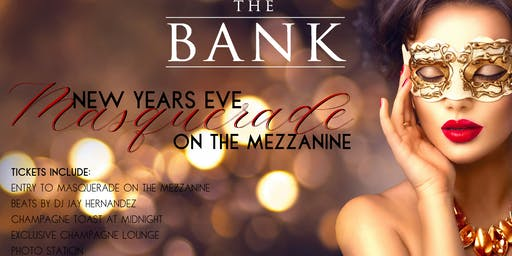 New Year's Eve - Masquerade on the Mezzanine