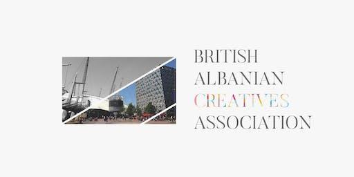 British Albanian Creatives Association Meetup on 12th of December (Thur)