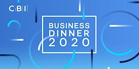 CBI Business Dinner - Sheffield  tickets