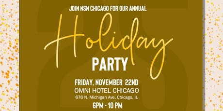 NSN Chicago 25th Anniversary Holiday Party tickets