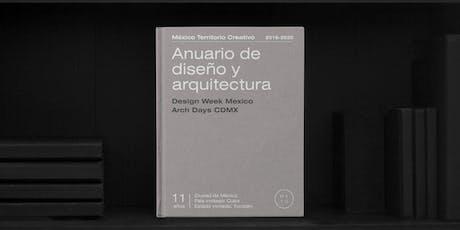 Presentación del Anuario de Diseño y Arquitectura 19-20 boletos
