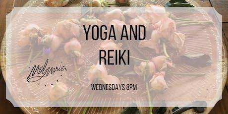 Yoga and Reiki tickets