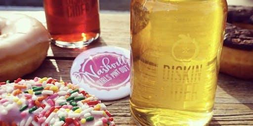 Nashville GPO cider & donut pairing