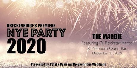 Breckenridge's Premiere NYE Party 2020 (All Inclusive)  tickets