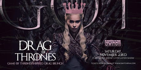 Winter is Coming Drag Brunch | Early Show tickets