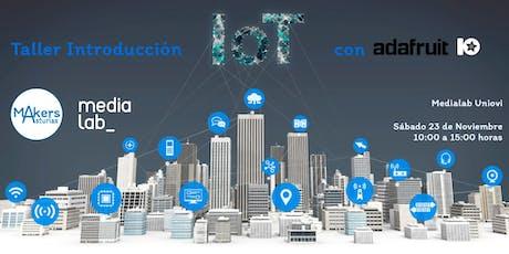 Taller de Introducción al Internet de las cosas (IOT) con Adafruit IO entradas