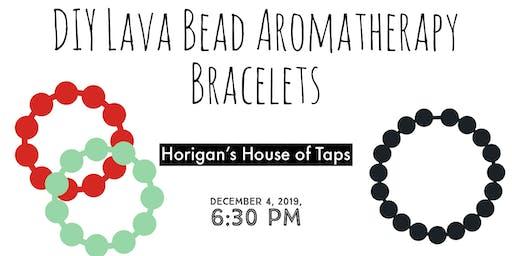 DIY Lava Bead Aromatherapy Bracelets