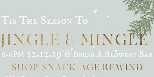 Brush's Jingle & Mingle with Rose, Rau Plastics, and Charcuteries by Vera