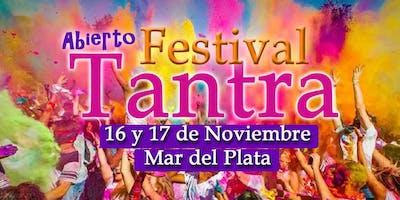 1er. Festival Tantra, en Mar del Plata!
