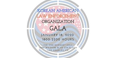 Korean American Law Enforcement Organization GALA tickets