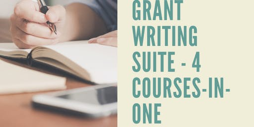 THIS IS AN ONLINE CLASS  -  Non Profit Management and Grant Writing Suite