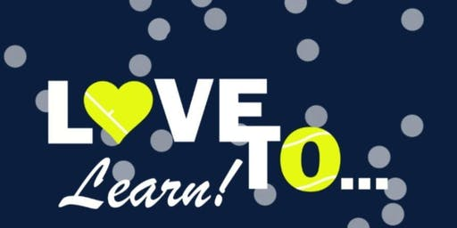 Love to Learn Adult Beginner Tennis at Ron Ehmann Park- Friday