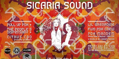 Pull Up PDX + The People's Dispensary present Sicaria Sound (UK)