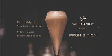 New Year's Eve Party - Prohibition! billets
