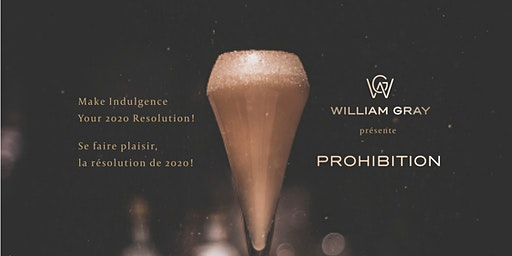 New Year's Eve Party - Prohibition!
