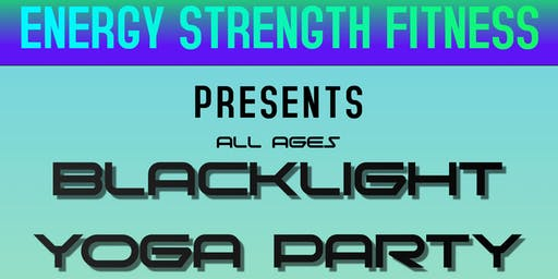 Black Light Yoga Party