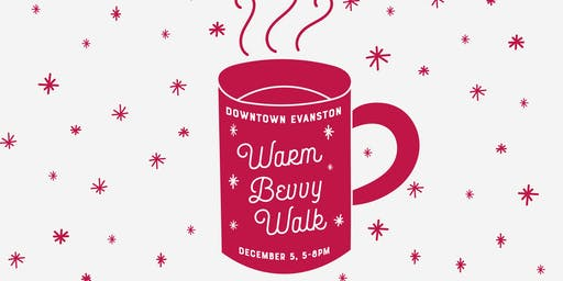 Downtown Evanston Warm Bevvy Walk